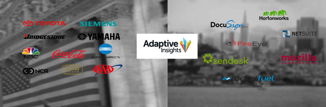 Adaptive Insights The Global Leader in Cloud BI & CPM