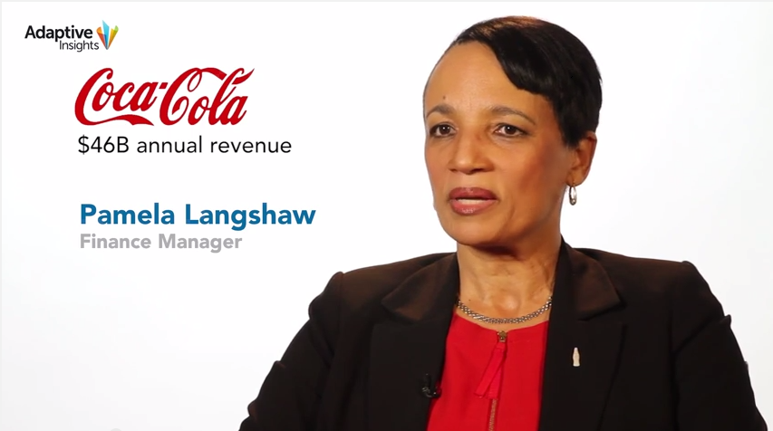 Coca-Cola utilise Adaptive Insights pour son budget