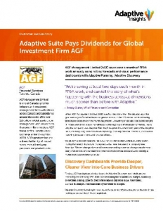 AGF service financier