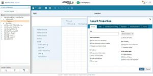 Report builder pour le reporting financier et non financier Adaptive Report